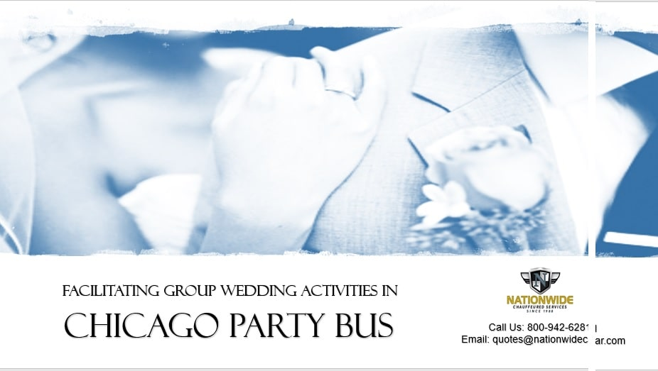 Chicago Party Bus Rental - Group Wedding Activities