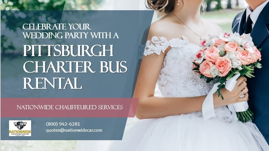 Celebrate Your Wedding Party with a Pittsburgh Charter Bus Rental