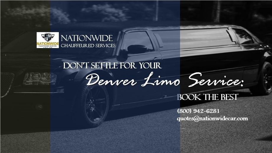 Don't Settle for Your Denver Limo Service: Book the Best