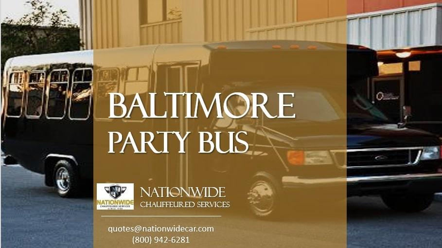 Party Bus Baltimore