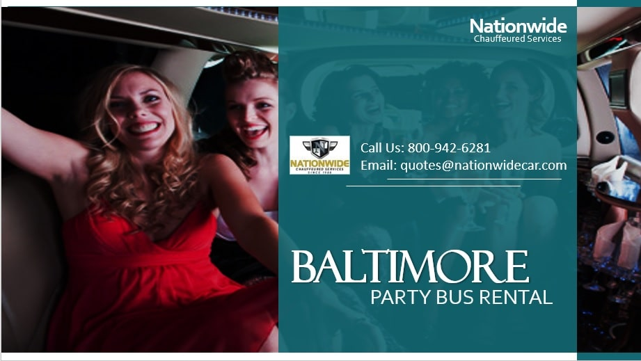 Baltimore Party Bus Rental
