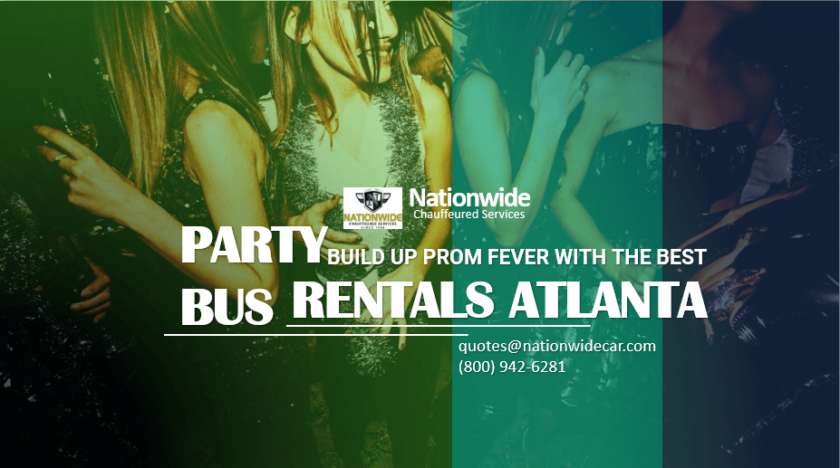 Build Up Prom Fever with the Best Party Bus Rentals Atlanta