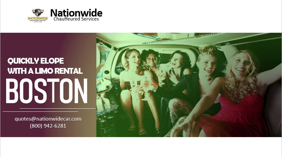 Quickly Elope with a Limo Rental Boston